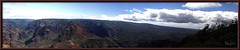 Waimea Canyon Pano (Sugardxn) Tags: garypentin sugardxn photoshop picswithframes frame hawaii waimea waimeacanyon canyon kauai canon canoneos20d canon20d