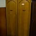 Tall oak two drawers wardrobe E180