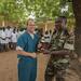 Shoulder to shoulder, sharing medical practices: American and Cameroonian military medical professionals partner, develop relationship through MEDRETE 17-5