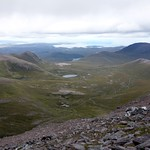 View northwest from high on An Teallach thumbnail