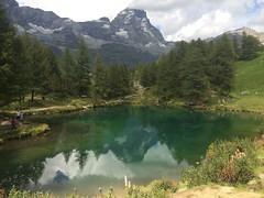 Lago Blu e Monte Cervino (marti_na91) Tags: mountain valledaosta cervino lake blulake