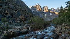 Streaming Out of Moraine (Ken Krach Photography) Tags: lakemoraine banffnationalpark