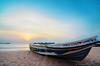Nilaveli Sunrise (Hiranya Malwatta) Tags: srilanka lanka trinco trincomalee beach sunrise boat boatscape landscape