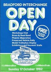 Bradford Interchange Open Day 1982 (Faversham 2009) Tags: scan scanned document bradford west yorkshire interchange bus buses 1982 metrobus metrotrain wypte passengertransportexecutive