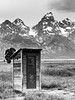 Outhouse with a view (Browtine1) Tags: outhouse ta moulton farmstead national park grand teton wyoming canon 7dmkii mountains