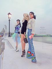 """Dania & Monogarm & Liz """" Poppy """" (Ray Grimes) Tags: fashiondoll fashionroyalty fashion nuface"""