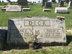 Philip K. Dick's grave