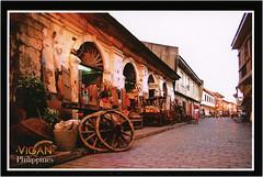 postcard - from Janbonivic, Philippines (Jassy-50) Tags: postcard postcrossing philippines vigan ilocossur luzon street shop unescoworldheritagesite unescoworldheritage unesco worldheritagesite worldheritage whs
