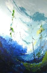 Terre d'hiver no 15 - 36x24 po - Acrylique sur toile (StudioRemiLacroix) Tags: acrylic acrylique arbre art bleu blue canada canvas disponibleàlavente forsale forest forêt landscape oeuvres outaouais paysage peinture remilacroix studioremilacroix tableau toile tree
