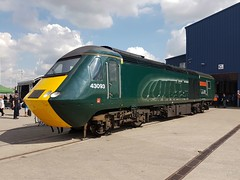 GWR 43093 Old Oak Common 2nd September 2017  E1880 (focus- transport) Tags: trains old oak common open day classes 31 47 50 57 180 800 d british railways br oliver cromwell tornado colas gbfr gbrf gwr hst rail operations group railcar diesel steam great western railway high speed train gb freight