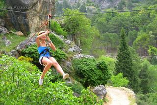 Tirolina en Cazorla #Explore 16/09/2017