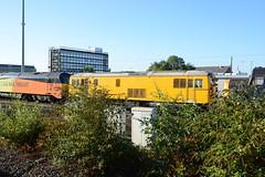 "Network Rail Yellow Class 73/1, 73138 (37190 ""Dalzell"") Tags: nr networkrail yellow testtrain stored withdrawn scrap ee englishelectric vulcanfoundry ed jb electrodiesel shoebox class73 class731 73138 e6045 railwaytechnicalcentre loramrail derby"