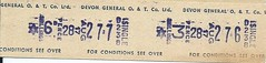 Devon General Bus Ticket (Ray's Photo Collection) Tags: scan scanned document bus buses travel ticket devon devongeneral