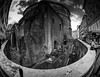 Big Bend at the Pantheon (C@mera M@n) Tags: architecture blackandwhite city italy monochrome pantheon people rome tourists travel urban ancient ancientrome archaeology building fisheye outdoors vacation