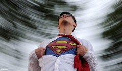 Look To The Skies (disgruntledbaker1) Tags: superhero superman color