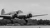 _DSC3156-6 (Ian. J. Winfield) Tags: shuttleworth oldwarden bedfordshire airshow air display heritage aviation aeroplane plane aircraft airplane monochrome black white flight flying avro anson 19 nineteen radial