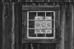See Through (brucetopher) Tags: window windows farm barn barnyard antique old rural american america farming wood light sunlight view seethrough lookthrough through layers nested adirondacks new york country travel holiday vacation touring tourism roadtrip trip roadside northeast lakechamplain lakesregion square 7dwf