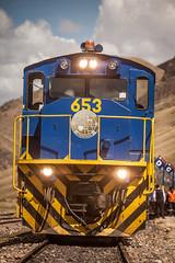 Perurail 653. (yeahwotever) Tags: cusco peru puno train