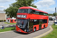 B5 LHC (markkirk85) Tags: vin no yv3t1u227ga180275 volvo b5lhc wright warwick prototype demonstrator new unregistered b5 lhc bus buses festival