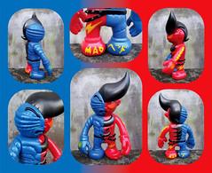 Mad Head Barbari Man (The Moog Image Dump) Tags: mad head barbari man rxh barbarians kaiju sofubi toy figure colab soft vinyl real 2007