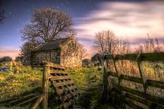 Barn (jim2302) Tags: foxford home barn tree gate night longexposure nikond7000 d7000 mayo ireland christmas december