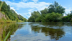 RIVER WYE (chris .p) Tags: nikon d610 view nt summer 2017 heerefordshire england nationaltrust capture theweirgarden uk august reflections landscape