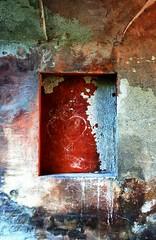 le cœur en feu (pierre-vdm) Tags: görlitz rouge red rot cœur heart herz mur wall wand mauer urbex germany deutschland