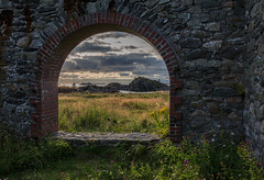 Watching days passing by (Siggi007) Tags: nature landscape seascape sky ruins flowers sunset islands ocean green grass clouds canoneos6d norway mood outdoors coast fall colors paysage rocks abandoned