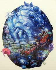 'Nausicaa' (edenpictures) Tags: miyazakiartshow hayaomiyazaki spokenyc spokeart artgallery galleryshow exhibit anime animation nausicaaandthevalleyofthewinds