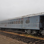Milwaukee Road Coach 621, ex-516 - 3/4 Right Side View thumbnail