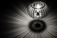 rays of light B&W (jonbawden50) Tags: lightshade abstract rays light lamp bulb bw bnw blackandwhite monochrome electric fuji lines