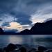 Dusk on Gjende, Norway