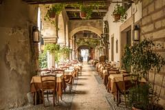 Verona (hjuengst) Tags: verona italy restaurant viasottoriva atmosphere mood