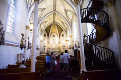 Loretto Chapel 022 (Bill in DC) Tags: nm newmexico santafe 2017 lorettochapel
