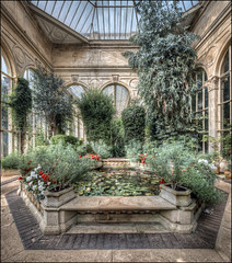 Orangery, Castle Ashby 2 (Darwinsgift) Tags: castle ashby orangery northamptonshire hdr nikkor pc e 19mm f4 nikon d850 photomerge multiple exposure stich greenhouse gardening