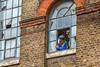 Did You See That (Jomak1) Tags: 2017 bricklane london rps swgroup september shoreditch jomak1 photowalk streetphotography window workmen