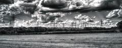 Electricity (nigdawphotography) Tags: power electricity pylons landscape fields farm arable essex furneuxpelham stockingpelham