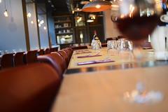 DSC_2373 (fdpdesign) Tags: pizzamaria pizzeria genova viacecchi foce italia italy design nikon d800 d200 furniture shopdesign industrial lampade arredo arredamento legno ferro abete tavoli sedie locali