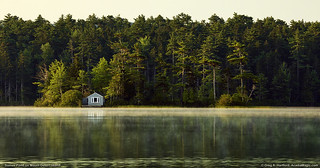 Somes Pond on Mount Desert Island, ME