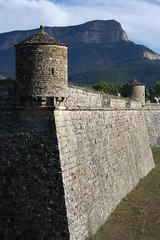 (artrimino) Tags: travel spain aragón huesca jaca ciudadela fortress citadel mount oroel rock crag