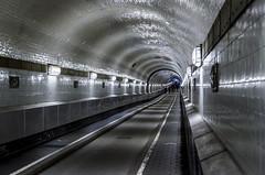 tunnel view classic (Blende1.8) Tags: alterelbtunnel tunnelblick tunnelview hamburg stpaulielbtunnel architecture architektur lines linien interior indoors perspective carstenheyer stpauli nikon d7000