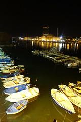 Gallipoli by night (viola.v94) Tags: gallipoli puglia salento holiday summer night barche porto prospective landscape travel tourism wanderlusts sony light