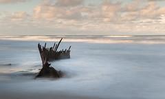 Shipwreck of the Trinculo 90 mile beach Victoria (laurie.g.w) Tags: shipwreck thetrinculo ninety 90milebeach victoria beach ocean waves wreck sky cloud australia eastgippsland shoreline coast seascape