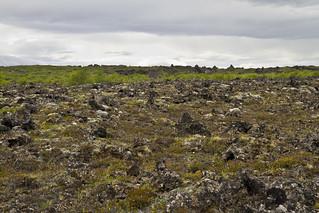 Lava field, Mývatn