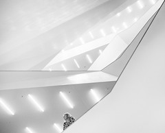 Human and geometry (Georgie Pauwels) Tags: lines hamburg geometry public olympus minimal moment white streetphotography