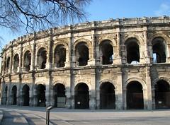 Arènes de Nîmes (Scratina) Tags: gard nîmes architectureromaine antiquité arènes