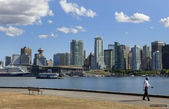 This Town (Clayton Perry Photoworks) Tags: vancouver bc canada summer stanleypark skyline buildings people coalharbour seawall
