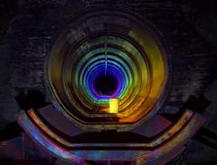 Rabštejn - Lightpaint (david_drei) Tags: lightpainting lightpaint lichtkunst lichtmalerei color kerosin tank rainbow regenbogen farben lapp drain röhre pipe tunnel tunnelvision