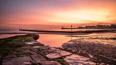 Margate Sunrise (Nathan J Hammonds) Tags: margate kent uk sunrise morning hdr long exposure nd filter 10stop bw colour tidal nikon d750 nikon2485mm sea seascape jetty harbour pool