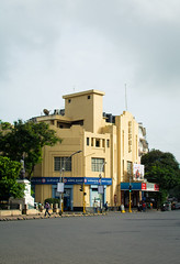 Arquitectura Mumbai 1/8 - Cinema Regal Art Deco (Sebhue) Tags: mumbai bombay arquitectura india